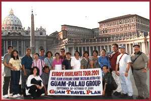 Guam Travel Plan 2004